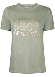T-Shirt met Tekst Opdruk