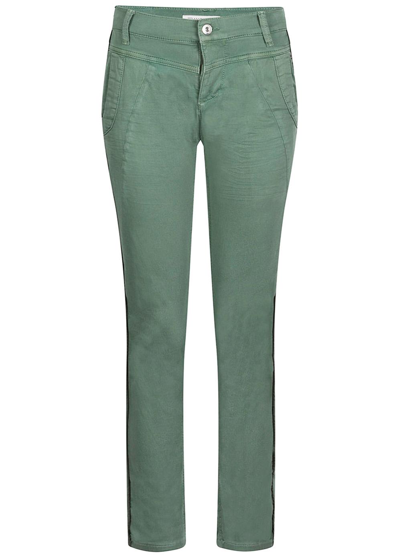 Groene Stretchbroek