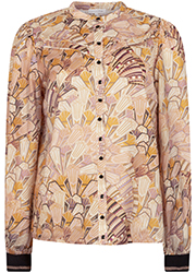 Top met Art Deco Print
