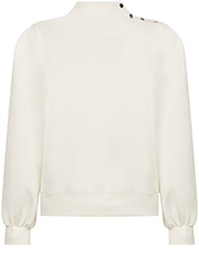 Sweater met Knoopdetails