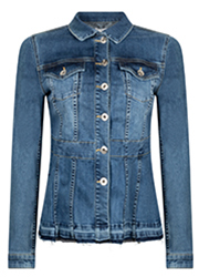 Getailleerde Denim Jacket