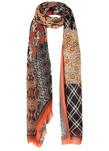 Sjaal met Quilt Print