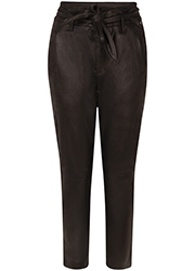 Coated Suedine Pantalon