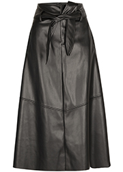 Fake Leather Rok