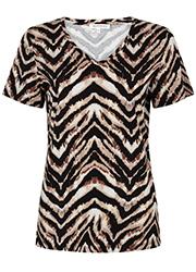 T-shirt met Zebraprint