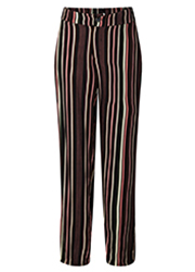 Wijde Pantalon met Streepprint
