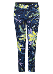 Pantalon met Allover Bloemenprint