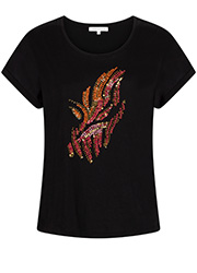T-shirt met Pailletten