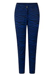 Pantalon met Zebraprint