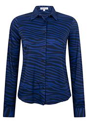 Zebraprint blouse