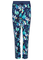 Sportieve Pantalon met Bloemenprint