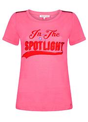 Roze T-shirt met Tekstopdruk