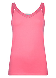 Singlet met Lurex Band