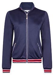 Sportief Donkerblauw Jacket