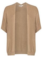 Oversized Lurex Vest