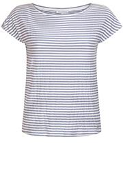 T-Shirt met Lurex Streep