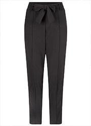 Zwarte Pantalon met Strik