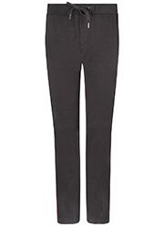 Zwarte Pantalon met Structuur