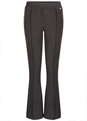 Flared Pantalon met Pintuck