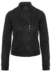 Coated Bikerjacket