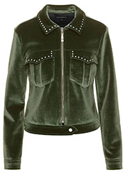 Velours Bikerjacket