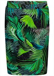Rok met Groene Jungle Print
