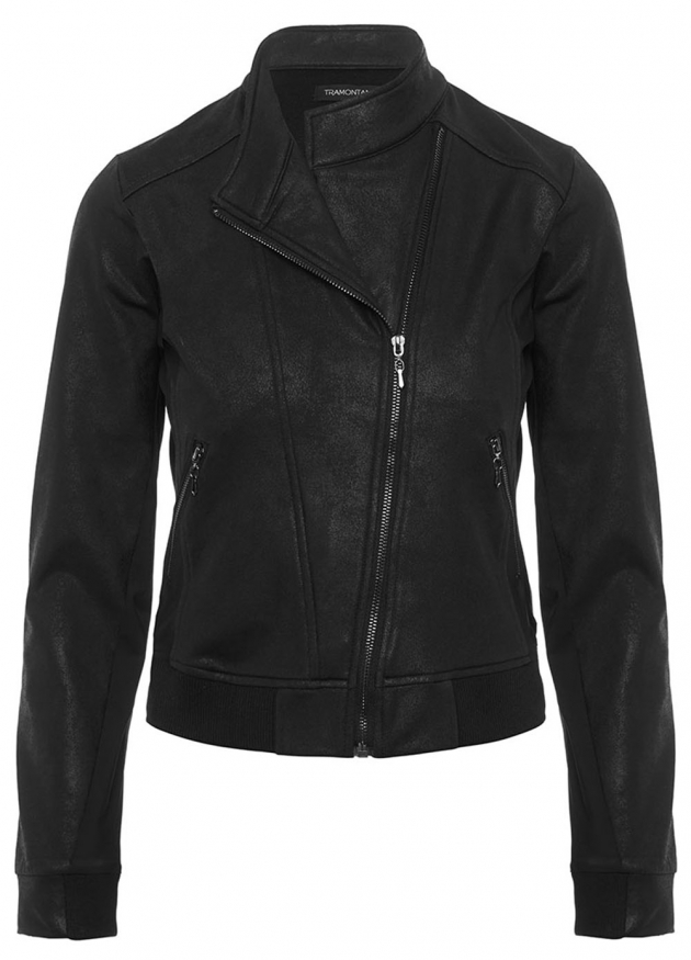 Tramontana-Coated Bikerjacket-Q03-88-801