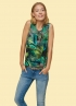 Tramontana-Mouwloze Top met Jungle Print-D12-91-401-1