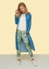 Tramontana-Denimlook Chambray Jurk -Q02-91-503-4