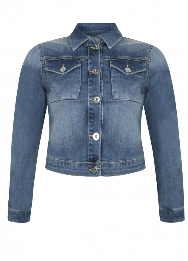 Tramontana-Denim Jacket -D05-94-802