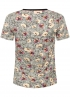 Tramontana-Animal T-shirt met Bloemenprint-D27-94-402-1