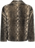 Tramontana-Snake Fake Fur Jacket-O01-96-901-2