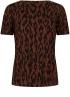 Tramontana-T-Shirt met Ikat Print-D06-98-402-3