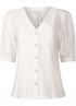 Tramontana-Jersey Broderie Blouse -C11-99-401-0