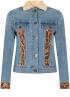 Tramontana-Jeans Jacket met Suedine Mix-Q07-01-801-3